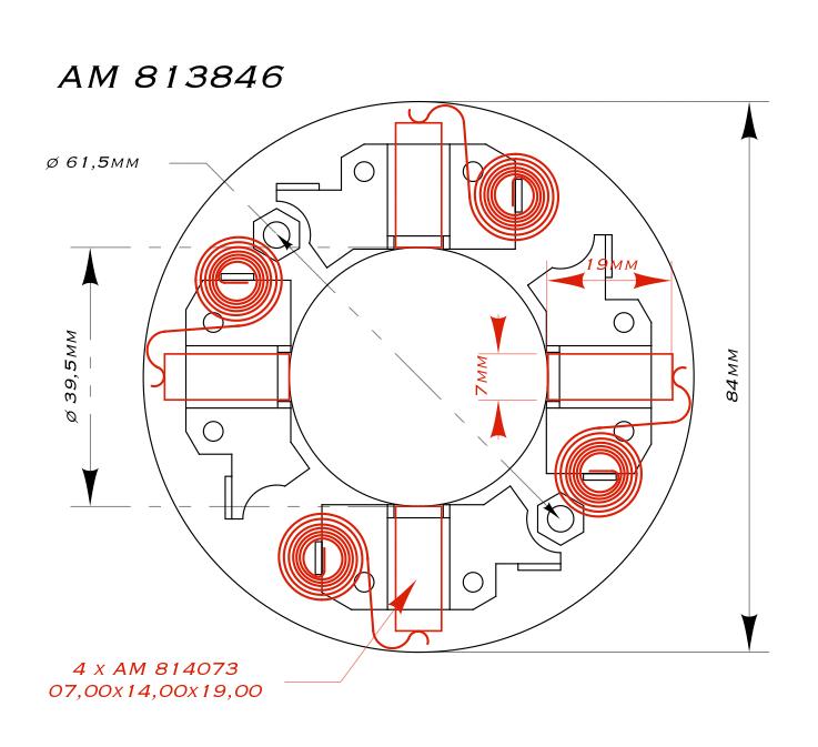 AM 813846 DRWG