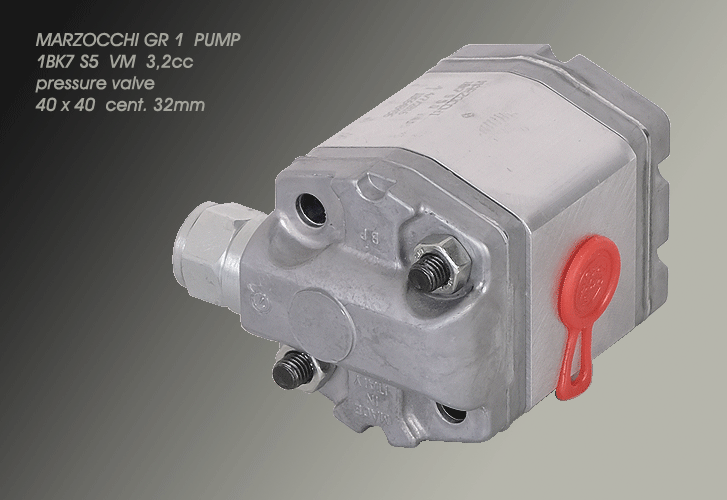 MARZOCCHI GR1 PUMP WITH PRESSURE VALVE