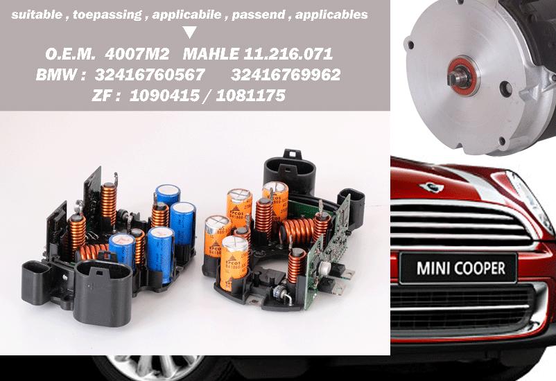 main board steering-motor Mini BMW