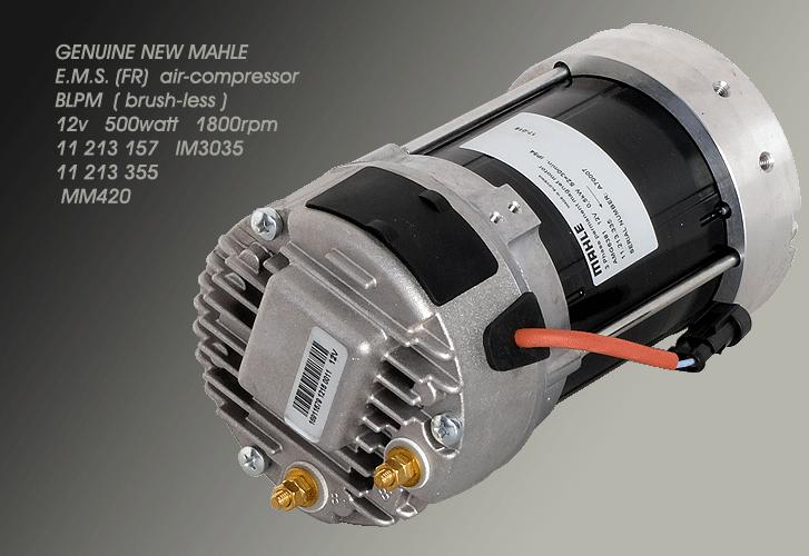 MAHLE BLPM 12V AIR COMPRESSOR MOTOR